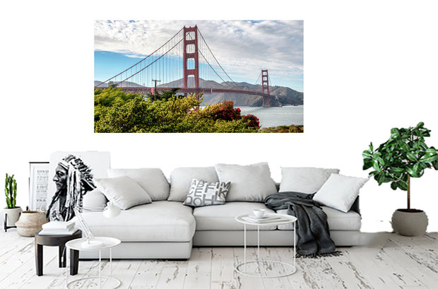 Wandbild Golden Gate